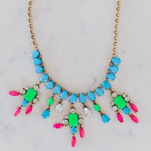 Jewelry - Bright Neon Gold Statement Necklace